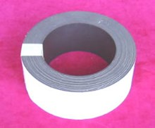 50mm x 10mtr White Magnetic Tape