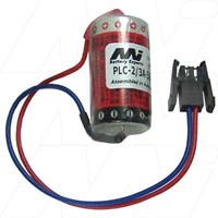 PLC Battery - Mitsubishi, A6BAT, A6BAT-MRBAT, MR-BAT. Eternacell, B9670MC.