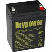 Drypower 12V 2.9Ah Sealed Lead Acid Battery (Replaces Century PS1229 )Opposite polarity to 12SB2.9PR