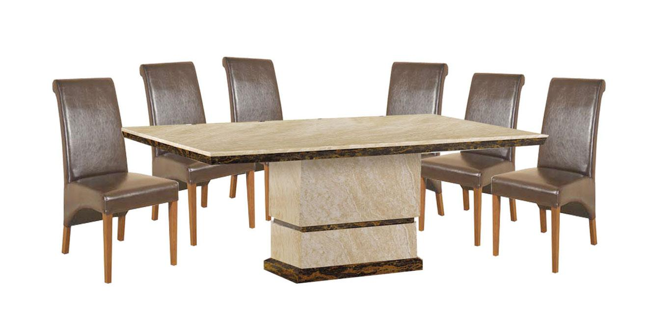 Marcello II Marble Dining Table 6 Matching Chairs  : 85437508 from www.rightstyle.ie size 1363 x 640 jpeg 66kB