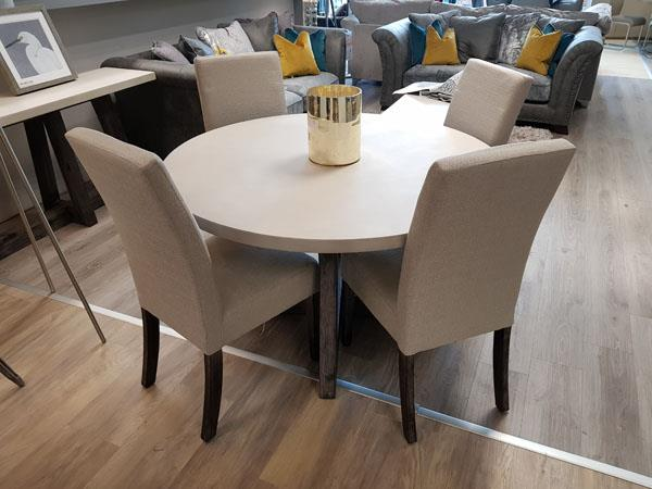 Austin 130cm Round Dining Set Dublin Ireland Furniture Store Rightstyle