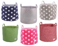 Fabric storage bags for childrens rooms