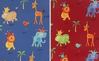 Jungle design curtains SPECIAL OFFER