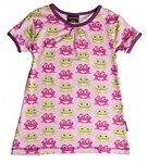 BUY OF THE MONTH Maxomorra Organic A-line top - Pink Frog