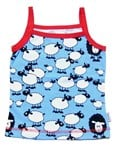 ON SALE Snoozy singlet top - Blue sheep