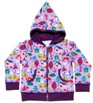 ON SALE Snoozy zip sweatshirt - Purple Forest