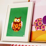 ON SALE Poster - Owl