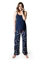 HOTmilk - ENIGMA  maternity pj pants     Navy