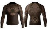 Nordic Long Sleeve Ranked Rashguard - Brown