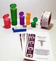 Marijuana Packaging Kit w/ Squeezetops® Containers