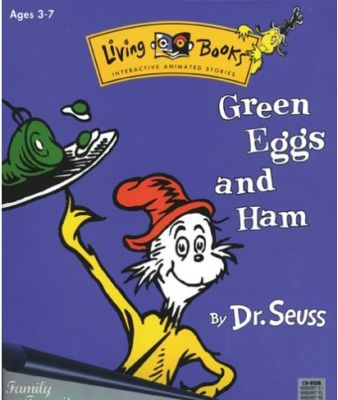 AND GREEN HAM EGGS BOOK