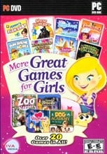 More Great Games for Girls 20 Casual Game Pack DVD-ROM