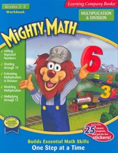 Mighty Math 2nd and 3rd Grade Multiplication & Division workbook