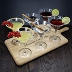 Personalised LSA Cocktail Paddle Set