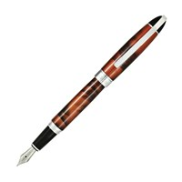 Conklin Victory Cinnamon<br/>Brown Marble Fountain Pen