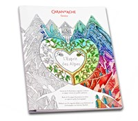 Caran d'Ache Art Therapy<br/>Spirit of the Alps Colouring Book