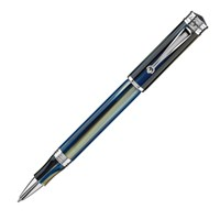Montegrappa Ducale Murano<br/>Sea Blue Marble Rollerball<br/>• Pre-Order September, 2017