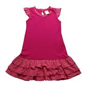 Frills in Pink Girls Dress - Girls Clothing