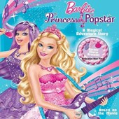 Barbie Popster Mattel - A Magical Adventure Story with Bonus Bracelet Licensed Book - Girls Books