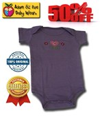 Adorable Adam & Eve Baby Wear Tag Free Romper - Unisex Clothes