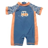 Off to the Beach One Piece Swim Suit - Boys Clothing