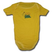 Catch Me If You Can Froggy Adam & Eve Baby Wear Tag Free Romper - Baby Boys & Baby Girls Clothes
