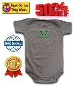 Happy Froggy Adam & Eve Baby Wear Tag Free Romper - Baby Boys Clothes
