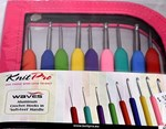 Knit Pro Waves Aluminum Crochet Hooks