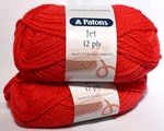 Patons Jet 12 Ply - Flame Red