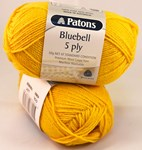 Patons Bluebell 5 ply - Mustard