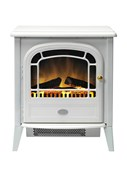 Dimplex Courchevel cast iron electric stove with Optiflame® log effect