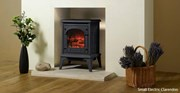 Gazco Clarendon Electric Clear Glass Stove
