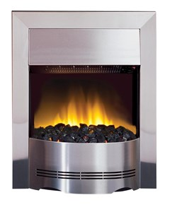 Dimplex Elda inset fire with unique Optiflame® effect
