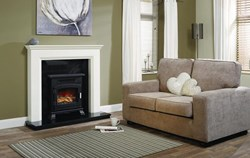 "Be Modern Westerdale 48"" Wooden Fireplace"