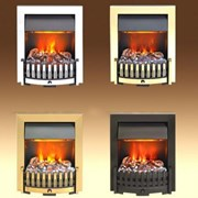 Dimplex Danville Inset electric fire with unique Opti-myst® smoke and flame effect
