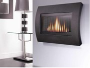 Flavel Curve Gas Fire