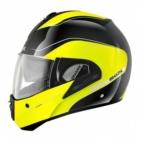 shark evoline series 3 arona ece helmet high visibility online motorcycle accessories. Black Bedroom Furniture Sets. Home Design Ideas