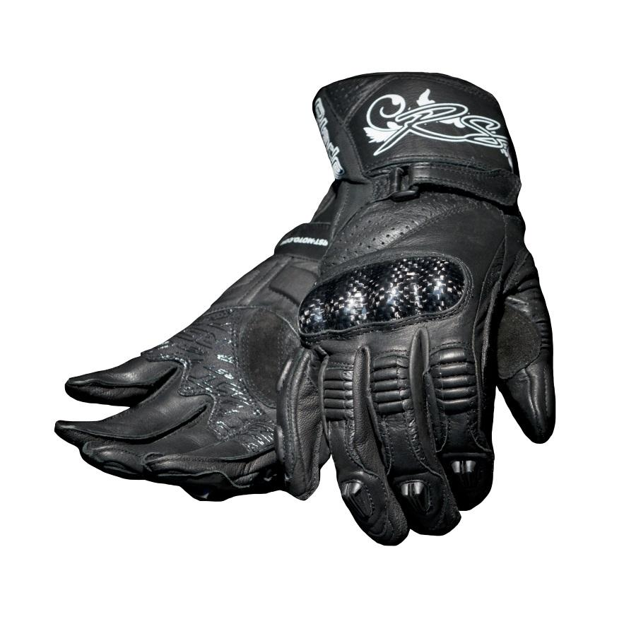 Ladies leather gloves australia - Rst Blade Ladies Leather Gloves Black