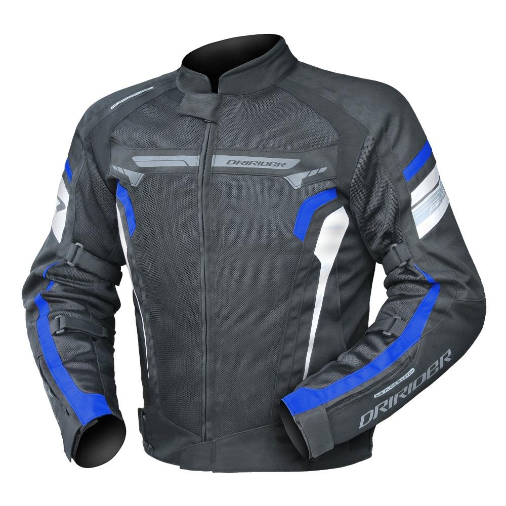 DRIRIDER Air Ride 4 Textile Jacket - Black/Blue Online ...