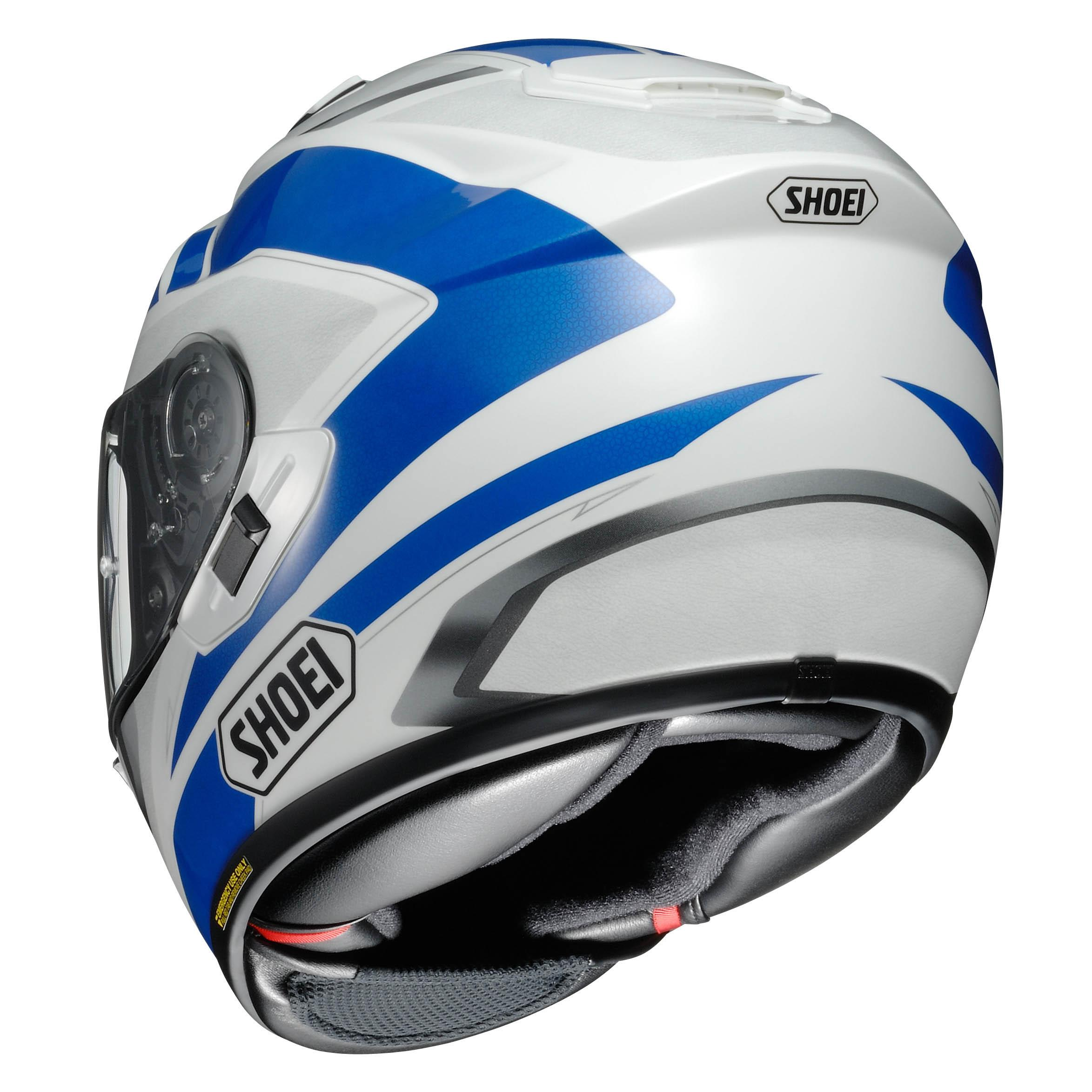 shoei gt air swayer tc 2 helmet blue white online motorcycle accessories australia scm. Black Bedroom Furniture Sets. Home Design Ideas