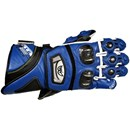 Berik KTG Leather Race Gloves Blue