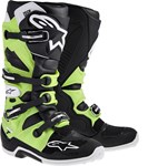 (CLEARANCE) Alpinestars Tech 7 Motocross Boots (Green)