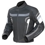 (CLEARANCE SALE) -Dririder Air Ride 3 Women's Jacket -Black White Grey