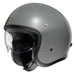 Shoei J.O Helmet - Solid Rat Grey