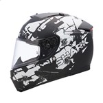 (CLEARANCE SALE) - Shark Speed-R Series 2 Helmet - Charger Matt Black/White