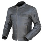 (CLEARANCE SALE) Dririder GT Leather Jacket -Black