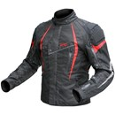 (CLEARANCE SALE) - DriRider Reactor Textile Jacket - Black Red