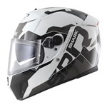 (CLEARANCE SALE) - Shark Speed-R Series 2 Helmet - Sauer II White/Black/Anthracite