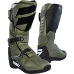 (CLEARANCE) 2018 SHIFT WHIT3 MX BOOT - FAT GREEN