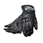 (CLEARANCE SALE) RST BLADE LADIES LEATHER GLOVES - Black